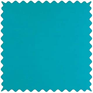 product image for SheetWorld 100% Cotton Jersey Fabric by The Yard, Teal, 36 x 60