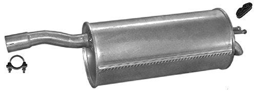 ETS-EXHAUST 50403 Silenziatore marmitta Posteriore + kit di montaggio (pour DOBLO 1.6 1.9 D VAN 103/63hp 2000-2005) ETS-SCARICO