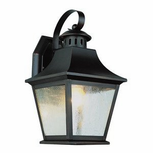 Trans Globe Lighting 4871 ROB 11-Inch 1-Light Outdoor Small Wall Lantern, Rubbed Oil Bronze - 11 Wall Lantern