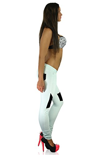 Best Pantalon Emilie Azure Femme Skinny Black rOgqwra