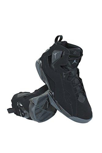 Jordan Nike Herren True Flight Basketballschuh Schwarz / Dunkelgrau