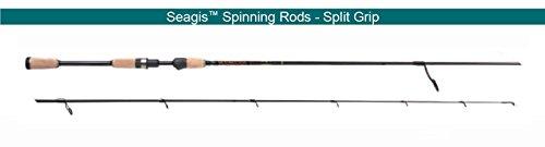 Star Seagis 7 6 Med-Light SK614FT76G Split Grip Spinning Rod