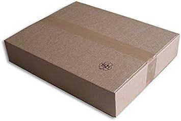 Cajas cartón (N ° 57) formato 450 x 350 x 80 mm: Amazon.es: Oficina y papelería