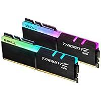 G.SKILL Trident Z RGB 16GB (2 x 8GB) PC4-28800 3600MHz DDR4 288-Pin DIMM Desktop Memory (F4-3600C18D-16GTZRX)