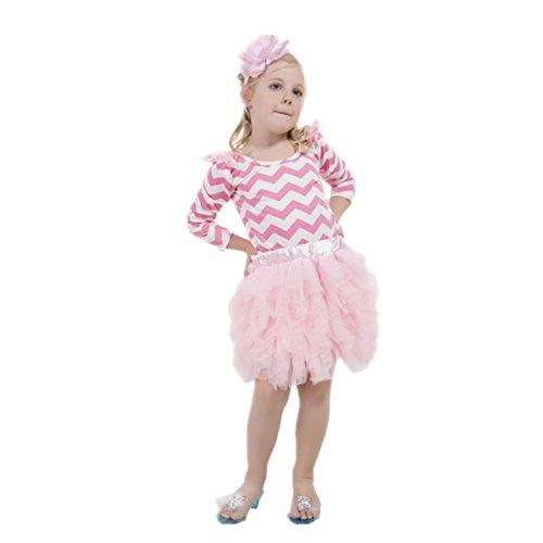 Pettiskirt Boutique Girl (Giggle Tree Boutique Pettiskirt For Girls Party Dress Up 130 XL)
