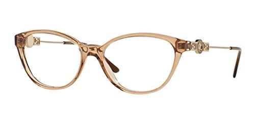 Versace Ve 3215 Eyeglasses 617 Brown - Luxottica Versace
