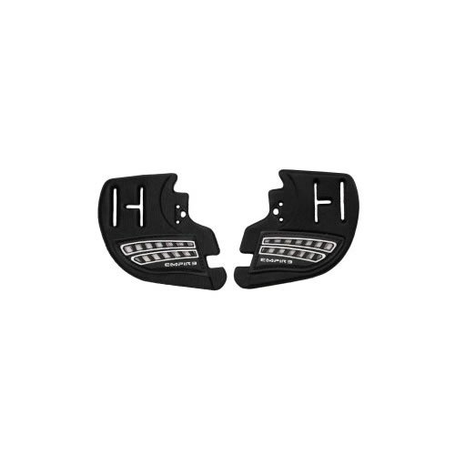 Empire E-Flex Part - Ear Piece (Pair) - Black/White