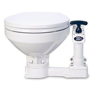 Jabsco 29090-5000 Twist n' Lock, Manual Marine Toilet, Compact - Marine Twist Lock