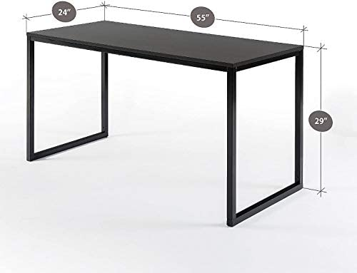 Rectangular Dining Table Table Only Office Desk Computer Table, Espresso – dongtaishiniudaojiahuoguodian