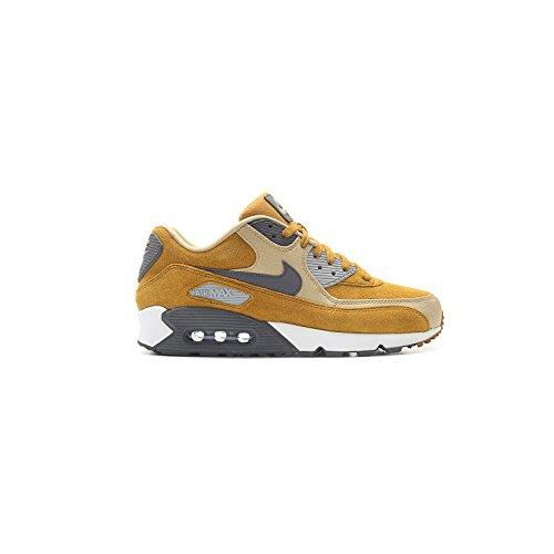 Nike - Air Max 90 Premium Desert Ochre - 700155700 - Colore: Bianco-Marrone-Nero - Taglia: 46.0