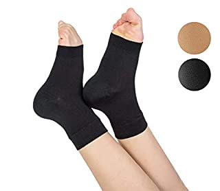 TOFLY Plantar Fasciitis Socks for Women Men, True 20-30mmHg Compression Socks for Arch & Ankle Support, Foot Care Compression Sleeves for Injury Recovery, Eases Swelling, Pain Relief, 1 Pair, Black L (B01M63S3G9) | Amazon price tracker / tracking, Amazon price history charts, Amazon price watches, Amazon price drop alerts