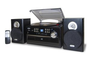 Spectra Iii Remote (NEW 3-Speed Turntable with CD, Radio, Remote)