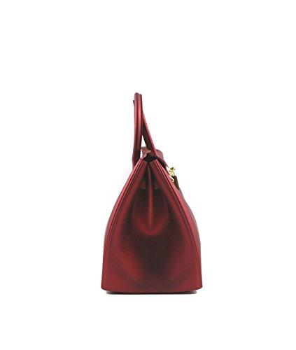 DKLZY Women s Handbags Solid Color Matte Jelly Birkin Bag - Import ... e5ca57070f