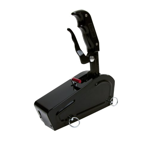 B&M 81052 Pro Stick Black Automatic Shifter with Stealth Magnum Grip ()