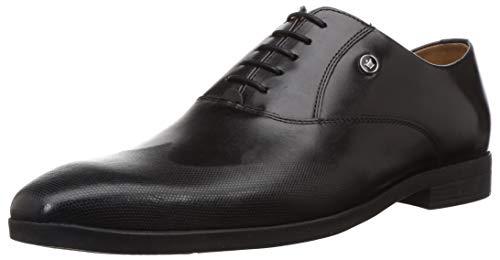 Louis Philippe Men's Black Formal Shoe