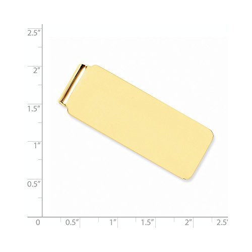 Gold Money 14k 14k Yellow Yellow Gold Clip 0H1c6q