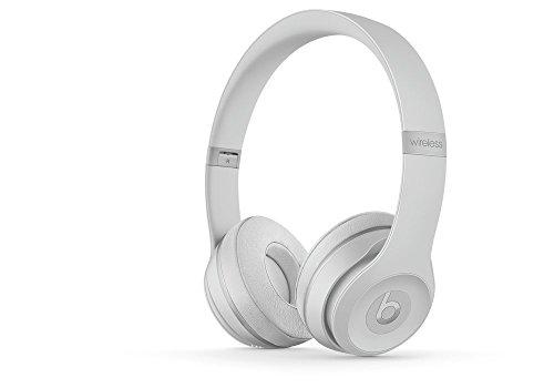 Beats Solo3 Wireless On-Ear Headphones – Matte Silver (Renewed)