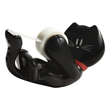 Scotch Magic Tape Dispenser (Black Kitty)