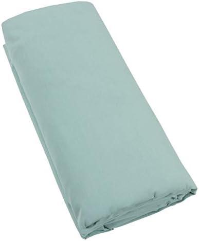 Turquesa – Sábana bajera 100% algodón percal, 140 x 190 cm, 160 x ...