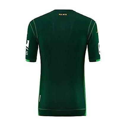 2ª equipación Réplica - Real Betis Balompié 2018/2019 - Kappa Kombat Replica Away - Niño: Amazon.es: Deportes y aire libre