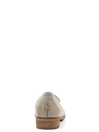 Pantofola in vitello laserato Cafè Noir art.EL142 Beige