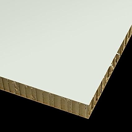 Carton Nido de Abeja Plancha Medidas 120cm x 200cm Grueso 12mm Color blanco