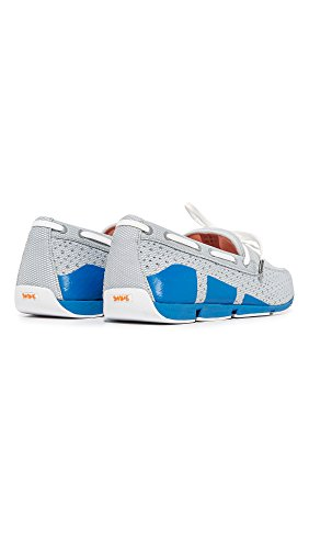 SWIMS Breeze Lace In Gray/BlitzBlue, Size 8