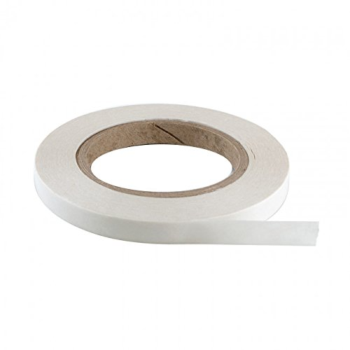Bulk Hardware BH04949 Self Adhesive Heavy Duty Double Sided Tape for Window Insualtion Kits etc, 13mm x 13.5 Metres (1/2 inch x 43.9ft) - White