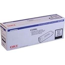 Oki C3200 Series Black Toner, 1500 Yield - Genuine Orginal OEM toner