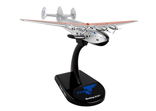 Postage Stamp Aircraft Model (Daron Postage Stamp PS5821 Boeing 314 Pan Am Airways Yankee Clipper 1:350 Scale Diecast Display Model With Stand)