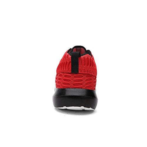 schwarz schwarz Laufschuhe Rot Herren OxsOy TzXqff