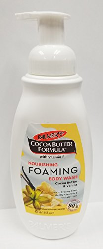 - Palmer's Cocoa Butter Nourishing Foaming Body Wash for Unisex, 13.5 Ounce