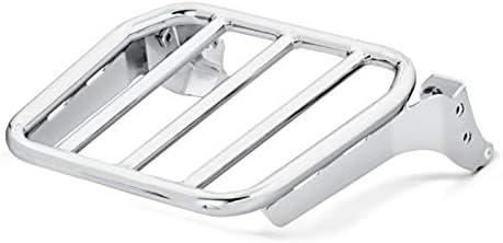 Gepäckträger Kompatibel Für Sissybar Kompatibel Für Harley Fat Bob 114 18 21 Chrom Auto