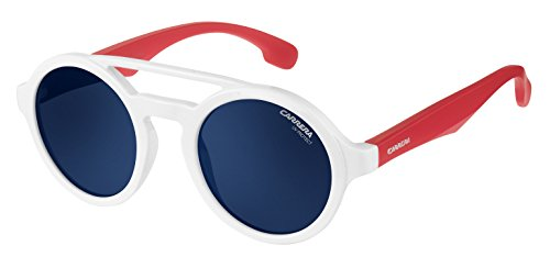 Sunglasses Carrera Carrerino 19 /S 07DM White Red / KU blue avio lens - Kids - Kids Sunglasses Carrera For