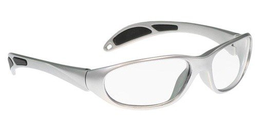 Schott SF-6 HT X-Ray Protective Lead Glasses, Gray Maxx Wrap Safety Frame, - Vs Glasses Safety Sunglasses