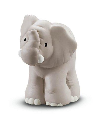 Fisher Price - Little People Zoo, Elephant - Adorable, Interactive  (Fisher Price Little People Zoo Talkers Animal Figures)