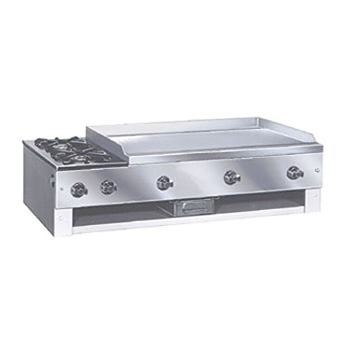 Gas Counter Unit Hot Plate - Comstock Castle 10301 Countertop Hot Plate & Griddle Combo Unit