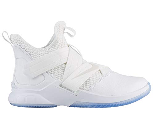 official photos de87b 9df0f Nike Soldier XII SFG - Men s Lebron James Nylon Basketball Shoes 10.5 D(M)  US White