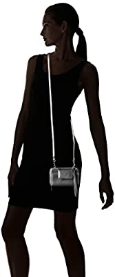 Buxton Rfid Cell Phone Crossbody Withwristlet, Pewter