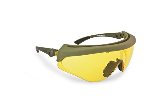 b3cd720b3a Safety Shooting Glasses Anticrash and Antifog Lenses by Bertoni Italy -  AF869