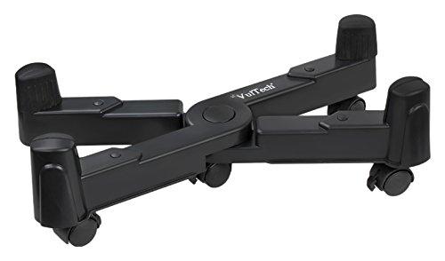 Soporte s Carro para Equipo inform/ático, 20 kg, Negro, ABS sint/éticos, 5 Rueda , 25 cm Vultech CP-03