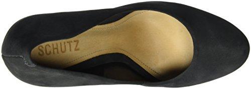 Col slate Gray Scarpin Scarpe Grau Schutz Donna Tacco EFRx8q
