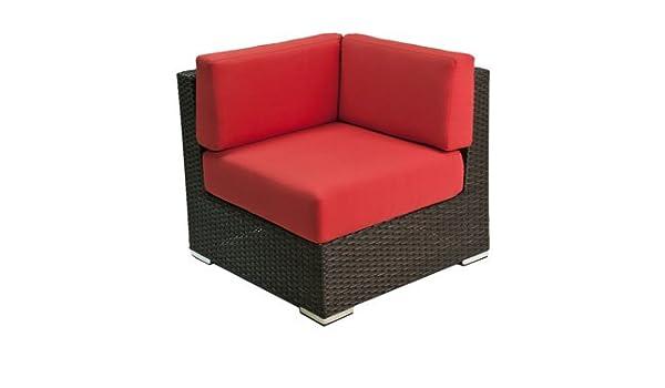 Peachy Amazon Com Florida Seating Crystal Beach Corner Chair Inzonedesignstudio Interior Chair Design Inzonedesignstudiocom