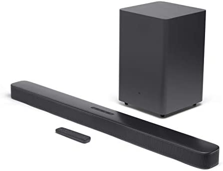 JBL Bar 2.1 Deep Bass Soundbar with 6.5 Wireless Subwoofer 2019 Model