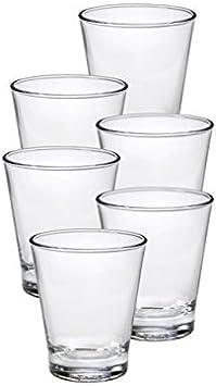 Set of 6 Duralex Hexagon 12.375 oz 35 Cl Tumbler Clear Glass 1075AB06//6