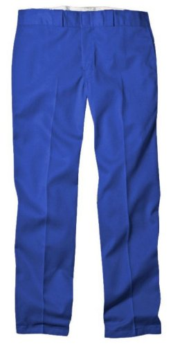 Dickies Men's Original 874 Work Pant, Royal Blue, 40W x 32L -