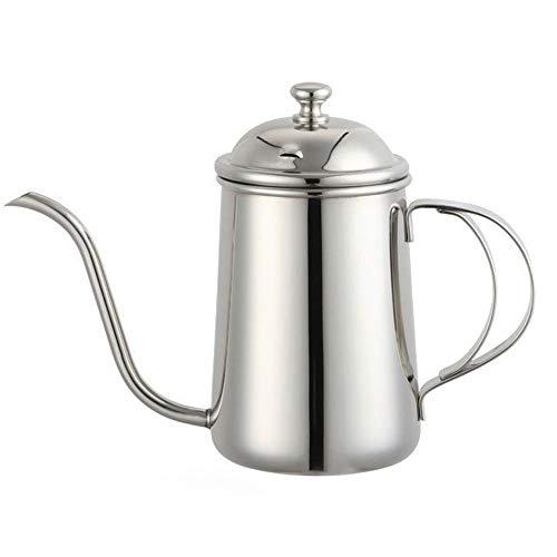 Long Narrow Coffee Pot Stainless Steel Poured Into Drip Coffee Pot Goose Neck Teapot (650ml/22 Oz) - Goose Pot