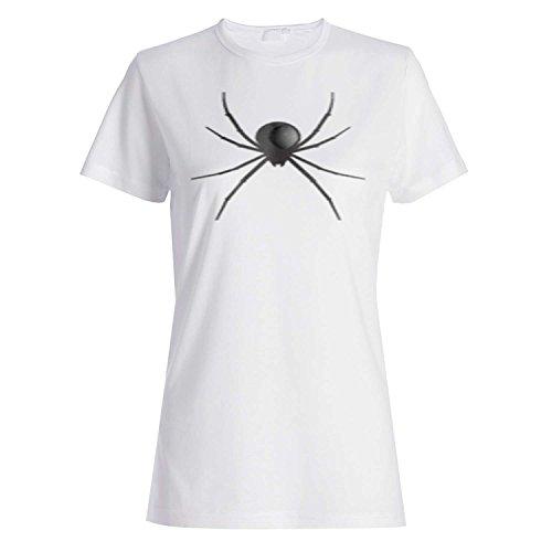 HAPPY HALLOWEEN SPIDER FUNNY NOVELTY NUEVO camiseta de las mujeres k8f