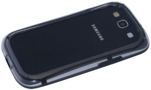 avci Base 4260310642000Bumper Coque en silicone TPU pour Samsung Galaxy S3i9300Noir