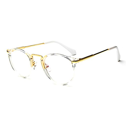 LOMOL Fashion Korean Personality Student Style Transparent Lens Frame Glasses For - Harley Oakley Sunglasses Davidson